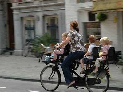 כסיא אופניים לילדים