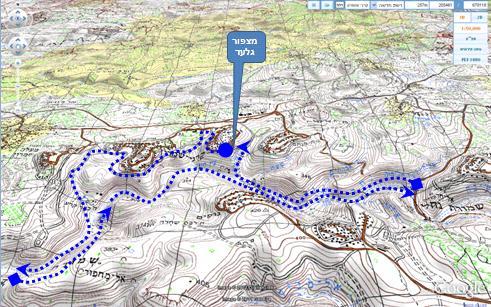סנסציוני מסלול רכיבת אופניים   ממצפור גלעד לנחל קנה VA-63